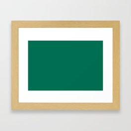 PANTONE 18-5845 Lush Meadow Framed Art Print