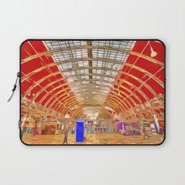 Paddington Railway Station Pop Art Laptop Sleeve