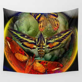 Butterfly Effect Blue Planet Wall Tapestry