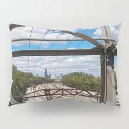 Old Bridge Looking North Pillow Sham