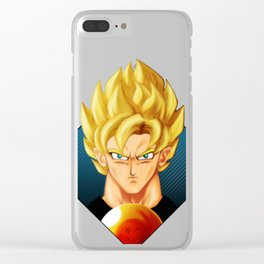 Super Saiyan DB Clear iPhone Case