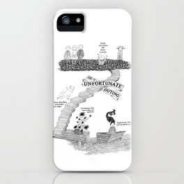 An Unfortunate Outing iPhone Case