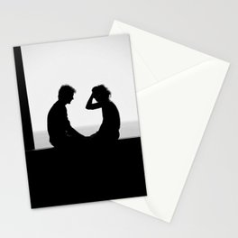 Love is... Black and white street photography Stationery Cards