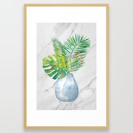 So Tropical Framed Art Print