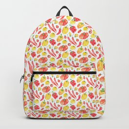 Italian Peppers and Tomatoes Backpack