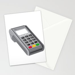 Point of Sale POS Terminal Retro Stationery Cards