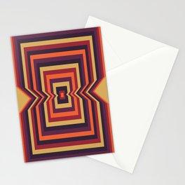 Squared Vortex Stationery Cards