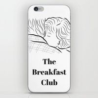 the breakfast club iPhone & iPod Skins featuring The Breakfast Club  by Luster
