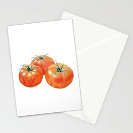 Three Tomatoes Stationery Cards