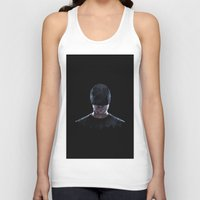 daredevil Tank Tops featuring Low Poly Daredevil by Canton Everett