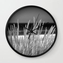 Landes seascape. Wall Clock