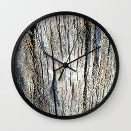 Old Stump Wall Clock