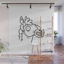 Mr Horse Wall Mural