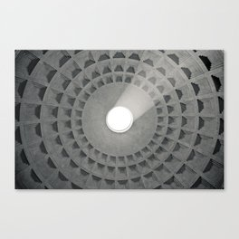 Pantheon Ceiling Canvas Print