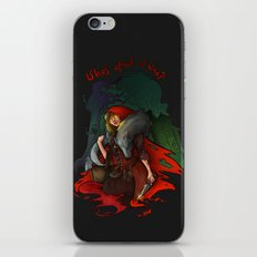 Who's Afraid of Who? iPhone & iPod Skin