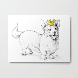 Your Highness Metal Print