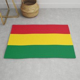 Flag of bolivia-bolivian,spanish,america,south america,latin america,coffee,Santa cruz,Sucre,La paz Rug
