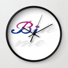 Bi-te me Wall Clock