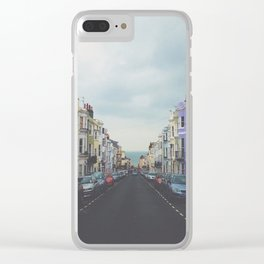 Brighton Houses Clear iPhone Case