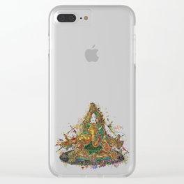 Ganesha v2 Clear iPhone Case