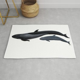 False killer whale Rug