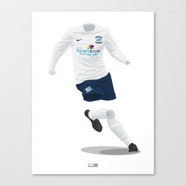 Preston North End 2013-14 Canvas Print