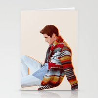 darren criss Stationery Cards featuring Darren for Hero by byebyesally