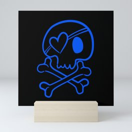 Skull and Crossbones Mini Art Print