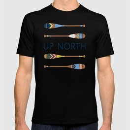 Up North Oars T-shirt