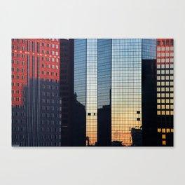 Sunset reflected III. Canvas Print
