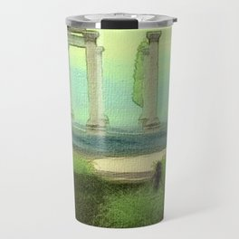 Temple ruins Travel Mug