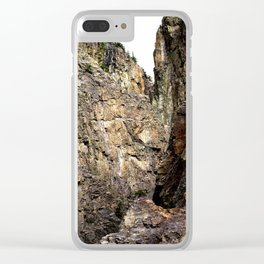In Eureka Gulch, High Above the South Fork Animas River Clear iPhone Case