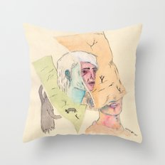 Guiones Throw Pillow
