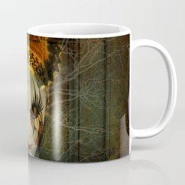 Surrealistic Venetian Mask Coffee Mug