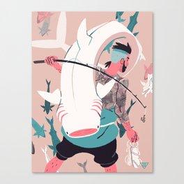 Sir Fish Canvas Print