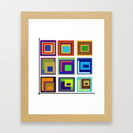 Creative Corner Framed Art Print