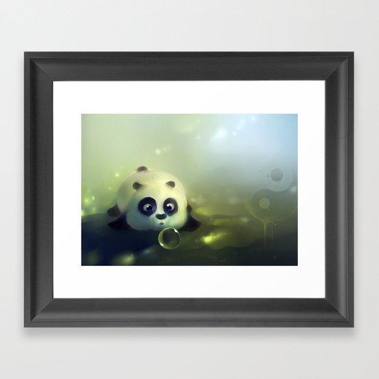 Dumpling Framed Art Print