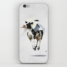 Holy Cow (wordless) iPhone Skin