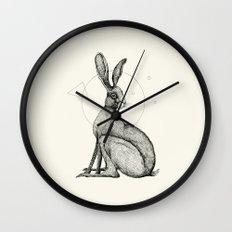 'Wildlife Analysis VI' Wall Clock
