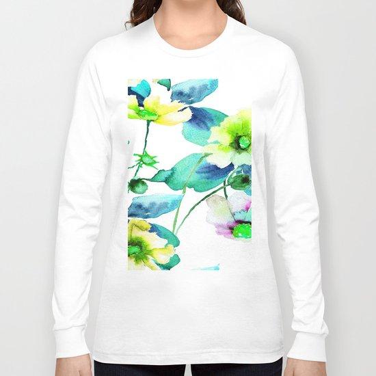 Flowers 08 Long Sleeve T-shirt