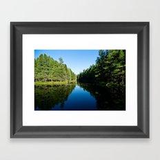 Natures Pathway Framed Art Print