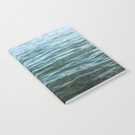 Aerial Ocean Photography | Sea Print | Beach | Waves | Blue | Turquoise | Green | Wave Notebook