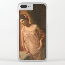 Edward Poynter - Asteri Clear iPhone Case