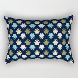 Grid Rectangular Pillow