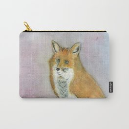 Frustrated Fox Carry-All Pouch