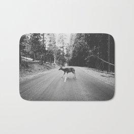 CROSSING / Yosemite Valley, CA Bath Mat