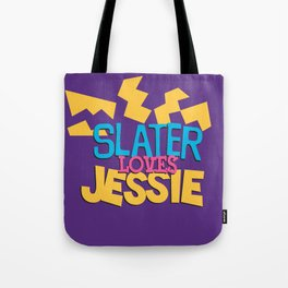 Slater Loves Jessie Tote Bag