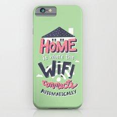 Home Wifi iPhone 6 Slim Case