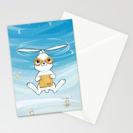Postal Bunny Stationery Cards