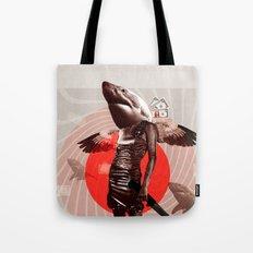 Shark Lady · Honey, what do you do for money? Tote Bag